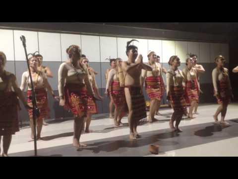 University of Baguio Voices Chorale - Sik Sik Sibatu Manikkam (Batak Song)