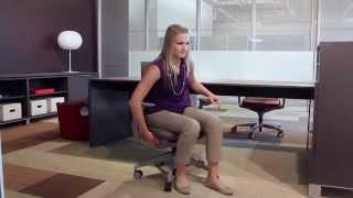 Allsteel Mimeo chair adjustments