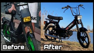 Tomos A35 moped Restauration
