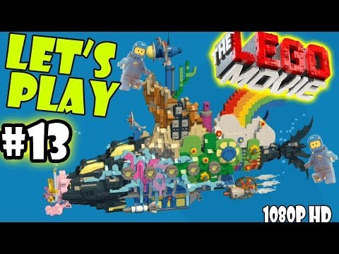 Let's Play LEGO Movie - Part 13: Escape from Cloud Cuckoo Land | Walkthrough Wii U