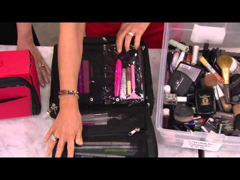 Ultimate Cosmetic Organizer Case by Lori Greiner with Jane Treacy