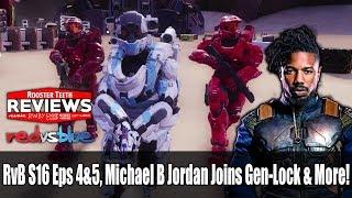 Red vs Blue   Michael B Jordan Joins Gen-Lock & More!   AfterBuzz TV