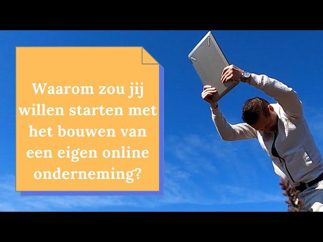 Waarom starten met online ondernemen en locatie onafhankelijk inkomen?