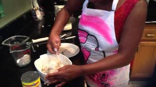 Auntie Fee's Salmon Croquettes (part 2)