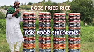 Egg fried rice|| for poor children || yummy egg fried rice||