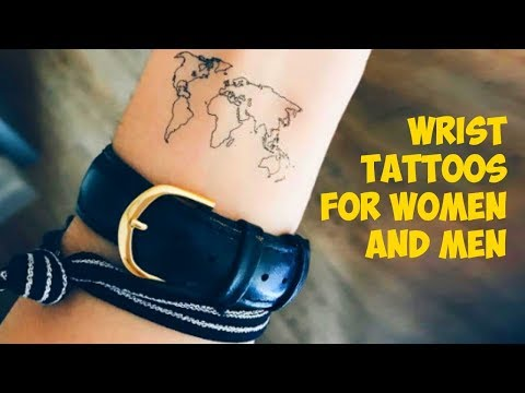 Unique Small Wrist Tattoos for Women and Men