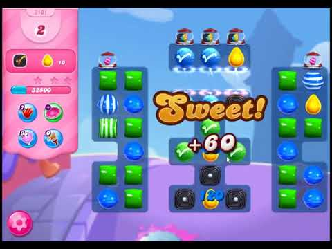 Candy Crush Saga Level 3101 - NO BOOSTERS