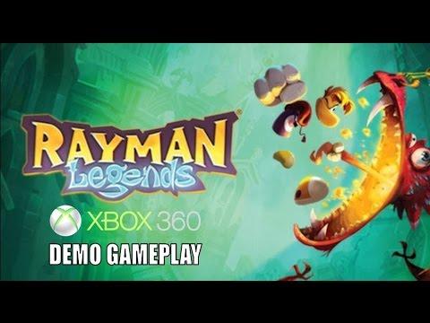 Rayman Legends Xbox 360 (Demo) Gameplay