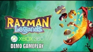 Rayman Legends Xbox 360 (Demo) Gameplay