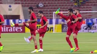 Persepolis and Al Hilal warming up! 2017 Video