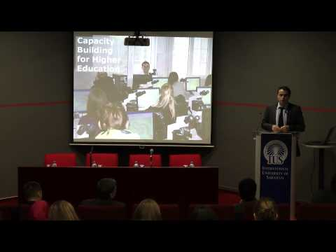 Possibilities in the area of higher education, Erasmus+ Director Mr Suad Muhibic