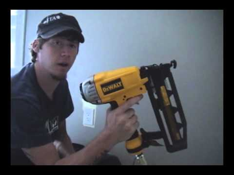 How to Use a Nail Gun - Video Tutorial thumbnail