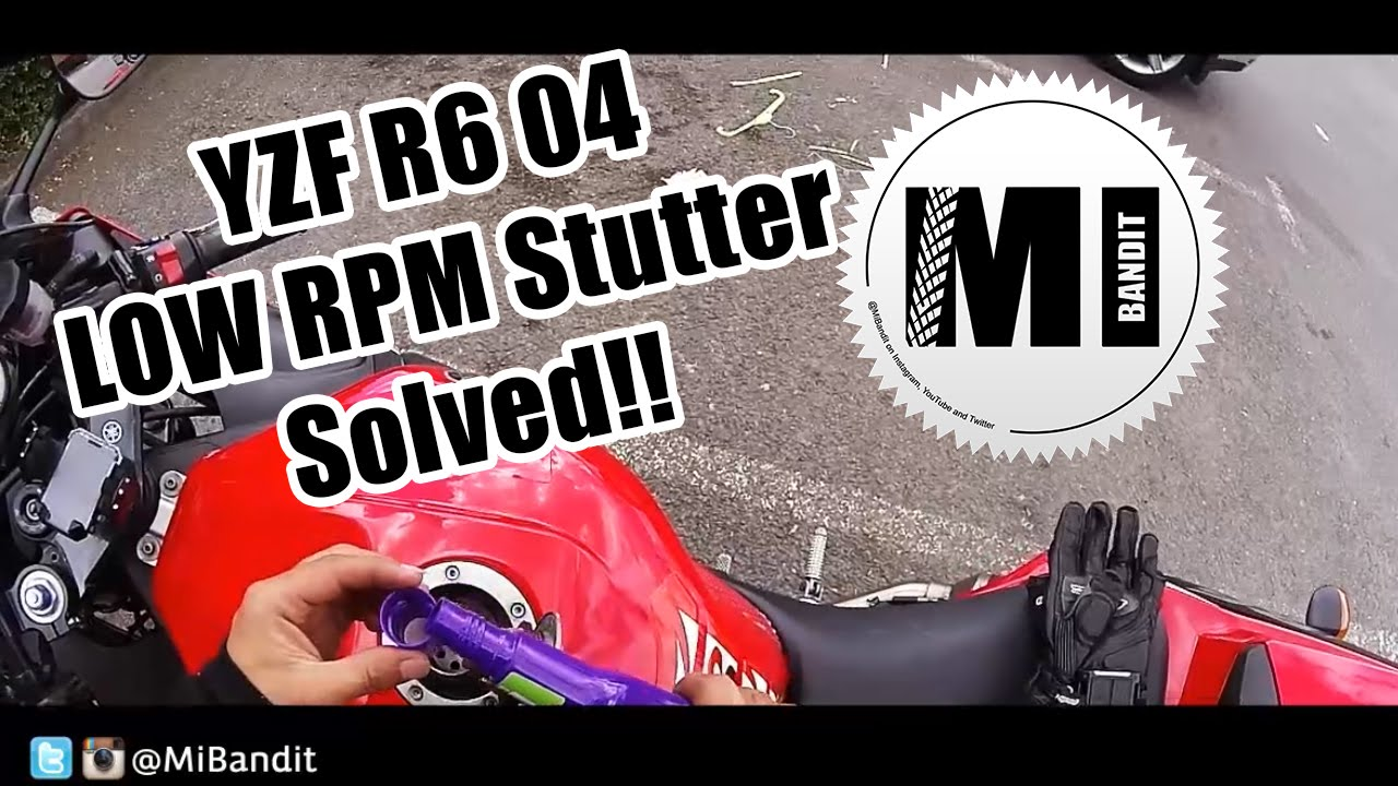 Yamaha YZF R6 RPM Stuttering fault rev Issue fixed