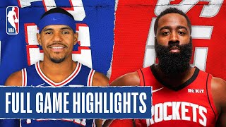 76ers At Rockets | Full Game Highlights | August 14, 2020