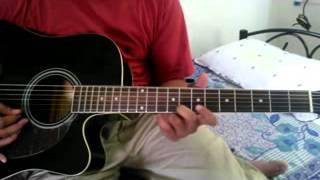 Bahut Pyar Karte Hai (Saajan) acoustic (lead) guitar cover by Manish