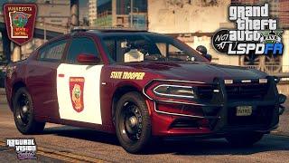 GTA 5 LSPDFR - Day 234 | Minnesota State Patrol (MSP) - Natural Vision Evolved [LSPDFR 0.4.7]