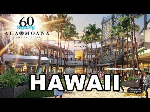 Ala Moana Shopping Center, Honolulu, Hawaii | Walking Tour
