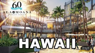 Ala Moana Shopping Center, Honolulu, Hawaii   Walking Tour