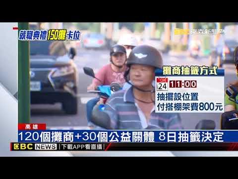 韓國瑜愛河就職 150個攤商平安夜就能進駐