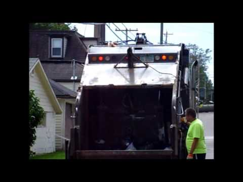 Garbage Truck Packing