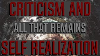 """All That Remains - """"Criticism and Self Realization"""" Lyric Video"""