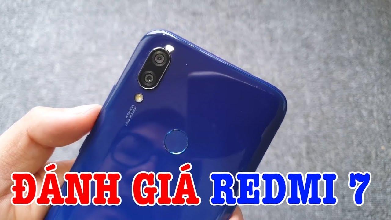 Đánh giá nhanh REDMI 7 Snapdragon 632, Pin 4000mAh GIÁ CỰC RẺ