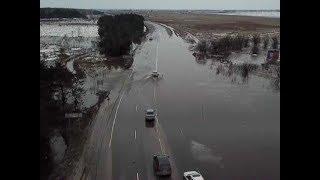 В Курском регионе начался паводок