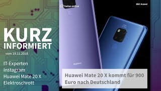 Mate 20 X Unboxing