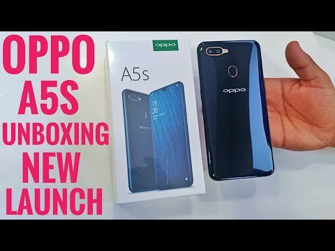 Oppo A5s Unboxing & First Look
