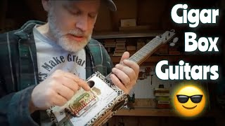 the versatility of the -3 string cigar box guitar