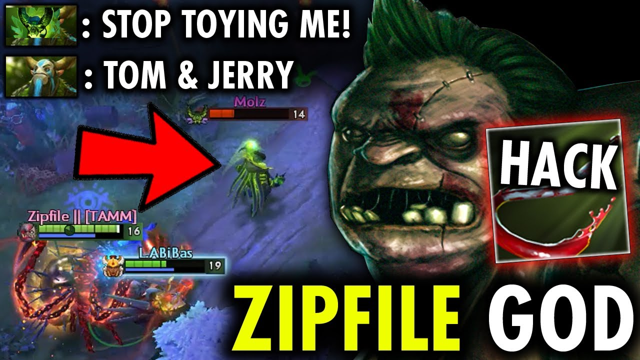 HOW Zipfile Toying Them Like TOM & JERRY - OMG Incredible Map Hack HOOK no ESCAPE | Genius Pudge