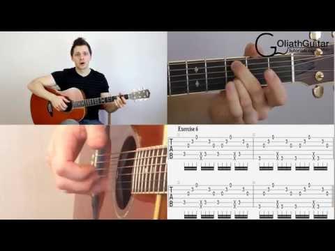 Percussive Slap Technique - Acoustic Guitar Lesson Part 1 - The Basics
