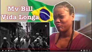 MV BILL - Vida Longa  RAP REACTION