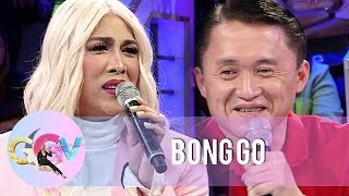 GGV: Vice Ganda receives love advice from Bong Go