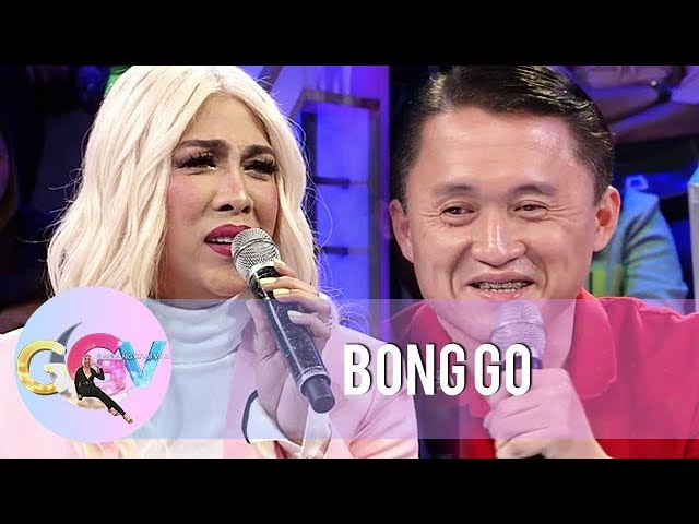 GGV: Vice Ganda receives love advice from Bong Go