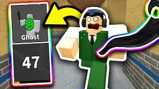 Youtubers VS GHOST PERK!! - Roblox YOUTUBER Murder Mystery 2