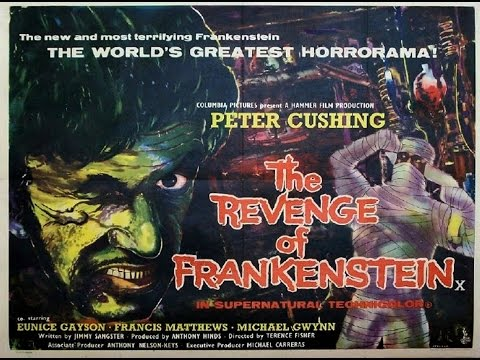 Hammer Horror Film Reviews: The Revenge of Frankenstein (1958)