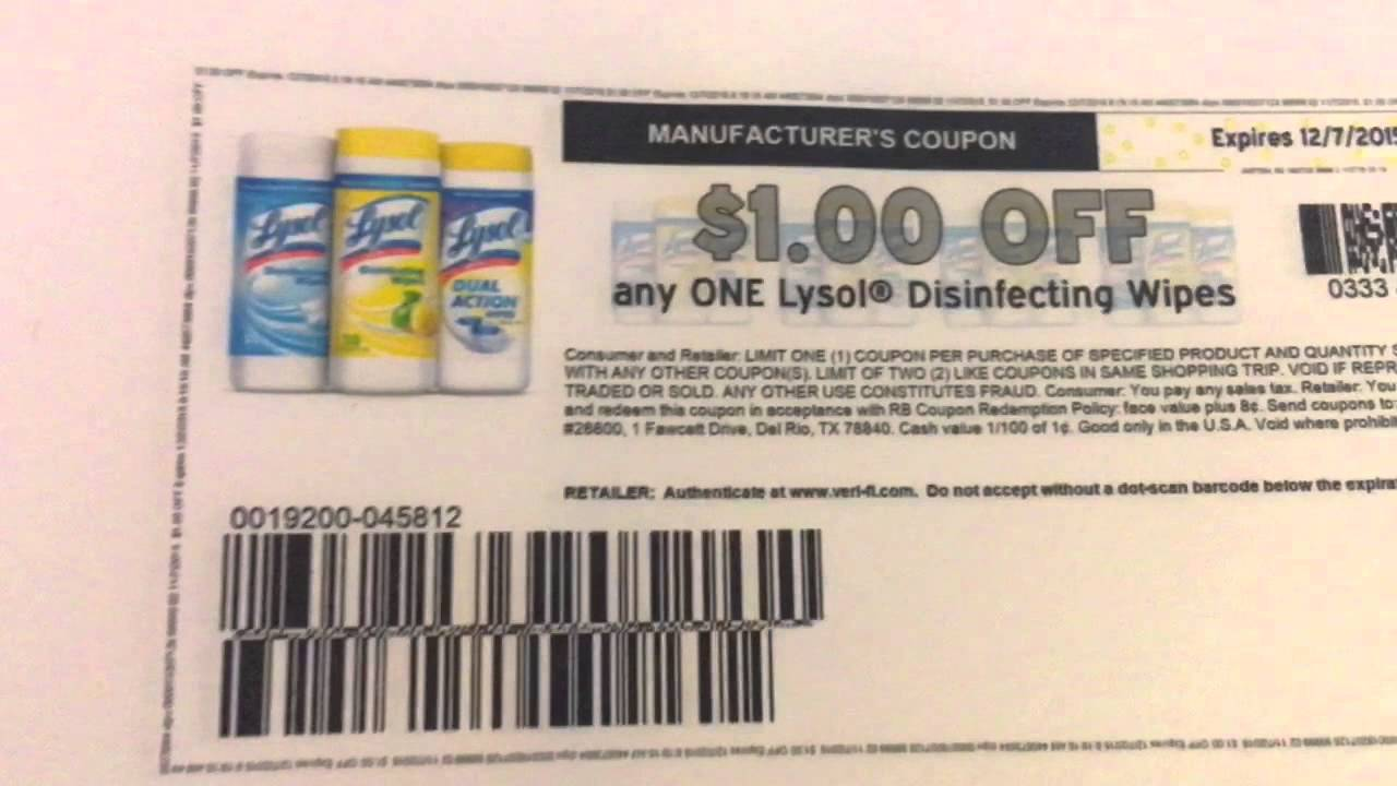 photo about Lysol Printable Coupons referred to as Very hot Lysol Coupon upon 11/07/2015