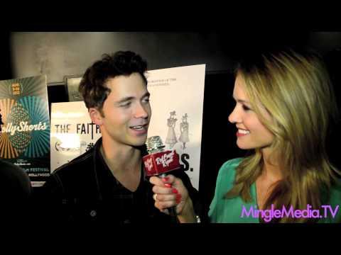 2012 HollyShorts Film Festival Red Carpet: Stephen Lunsford @Lunsfuhd of MTV's Teen Wolf