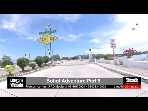 MoTourism Segment: Bohol Adventure (Dauis) News Update (October 23, 2017)