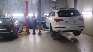 Сажевый фильтр. удаление сажевого фильтра Audi Q7. москва