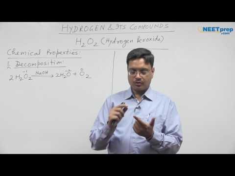 #4 | H2O2 (Hydrogen Peroxide) | Hydrogen | Vipin Agarwal NEET & AIIMS Videos NEET AIIMS NEET AIIMS