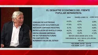 Roberto Centeno: Sánchez nos lleva a una recesión económica de consecuencias imprevisibles