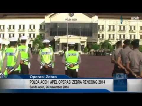Polda Aceh  Apel Operasi Zebra Rencong 2014