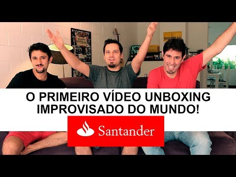 O PRIMEIRO VÍDEO UNBOXING IMPROVISADO DO MUNDO!