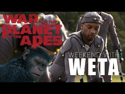 "Spoken Reasons Weekend at WETA: ""War For The Planet of The Apes"" #WETAWorkshop"