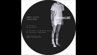 Array Access - Variation 2 (Eomac Remix)  [RSI007]