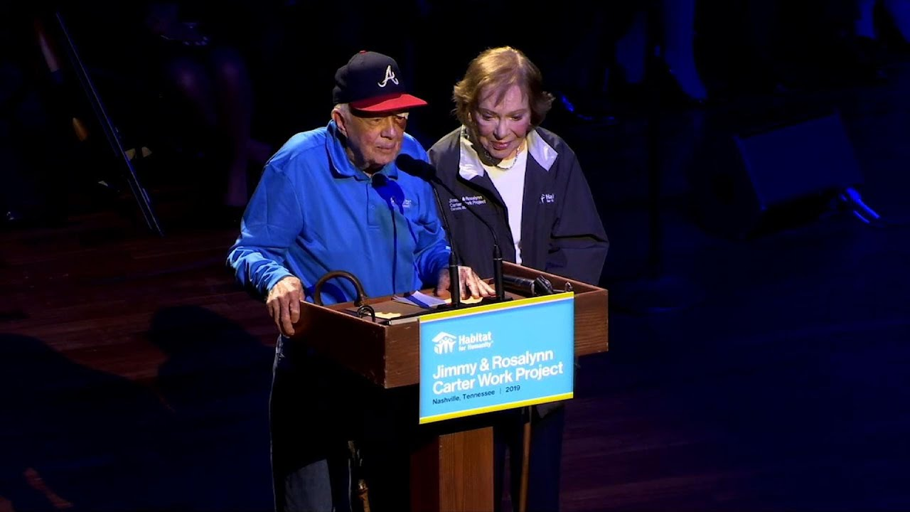 Ex-President Jimmy Carter has black eye, stitches after fall