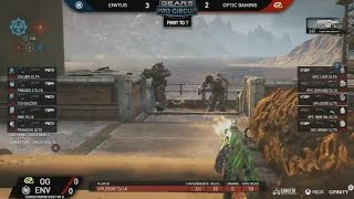 GEARS OF WAR 4 - Optic vs Envyus $100K FINAL MATCH Mexico Pro Circuit
