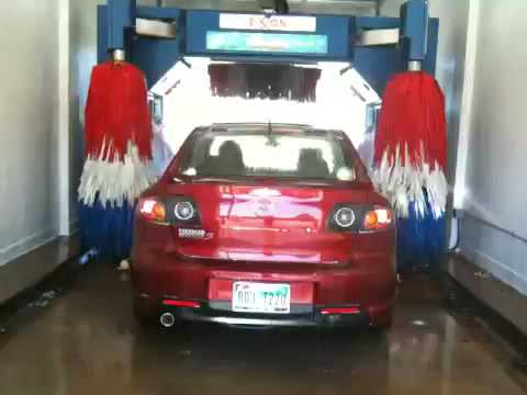 car wash exxon youtube. Black Bedroom Furniture Sets. Home Design Ideas